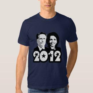 2012 ROMNEY RICE PORTRAIT.png Shirts