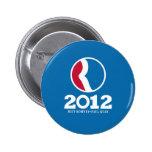 2012 Romney Ryan 2 Inch Round Button