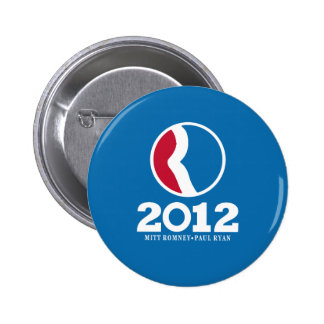 2012 Romney Ryan Pins