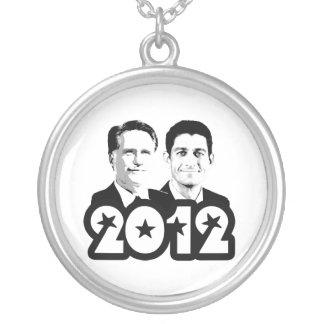 2012 ROMNEY RYAN PORTRAIT.png Necklace