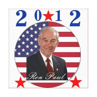 2012 Ron Paul Canvas Print