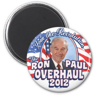 2012 Ron Paul Overhaul Refrigerator Magnets