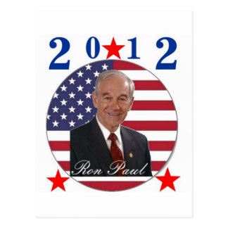 2012 Ron Paul Postcard
