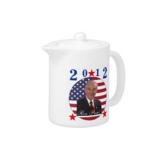 2012 Ron Paul Teapot