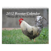 2012 Rooster Calendar