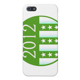 2012 Round Seal Green Color Party Version Cover For iPhone SE/5/5s