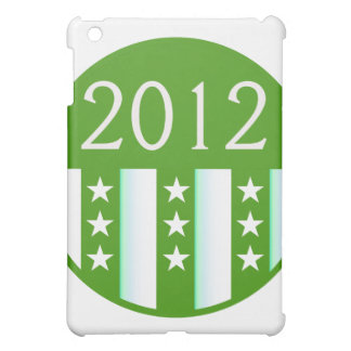2012 Round Seal Green Color Party Version Cover For The iPad Mini