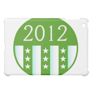 2012 Round Seal Green Color Party Version iPad Mini Cover