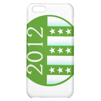 2012 Round Seal Green Color Party Version Case For iPhone 5C