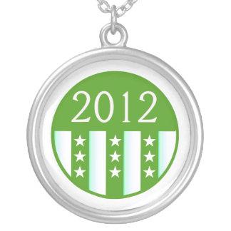 2012 Round Seal Green Color Party Version Necklaces