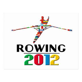 2012: Rowing Postcard