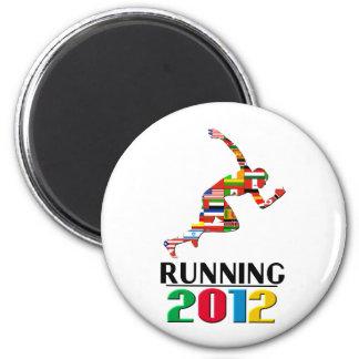 2012: Running 2 Inch Round Magnet