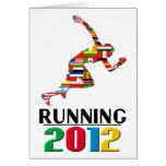 2012: Running Greeting Card