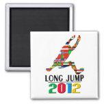 2012: Salto de longitud Imán De Frigorífico