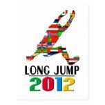 2012: Salto de longitud Tarjeta Postal