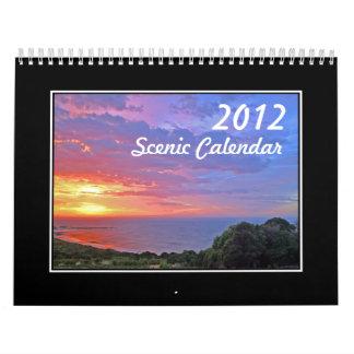 2012 Scenic Calendar Australia