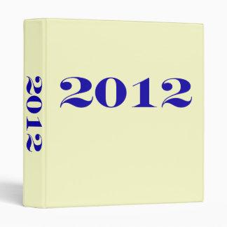 2012 School Avery Binder