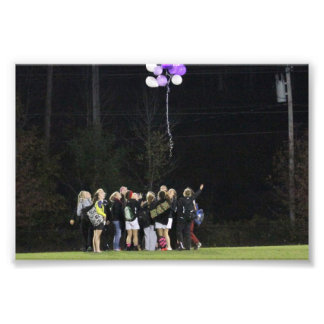 2012 Senior Night Photographic Print