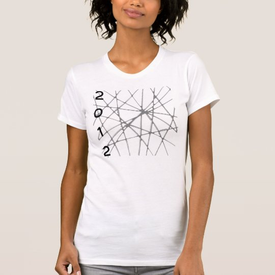 "2012 Shirt T-Shirt Clothing ""Web of Chaos"" Womens"
