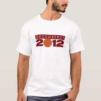 "2012 Shirts T-Shirts Clothing ""December 21"""