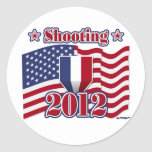 2012 Shooting Round Stickers