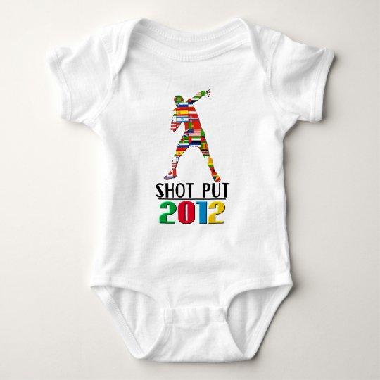 2012: Shot Put Baby Bodysuit