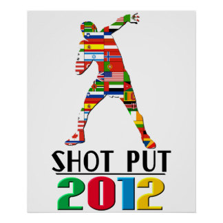 2012: Shot Put Posters