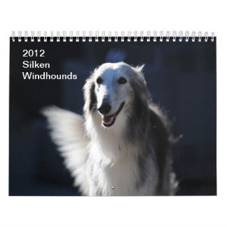 2012 Silken Windhounds Calendar