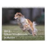 2012 Silken Windhounds In Action calendar