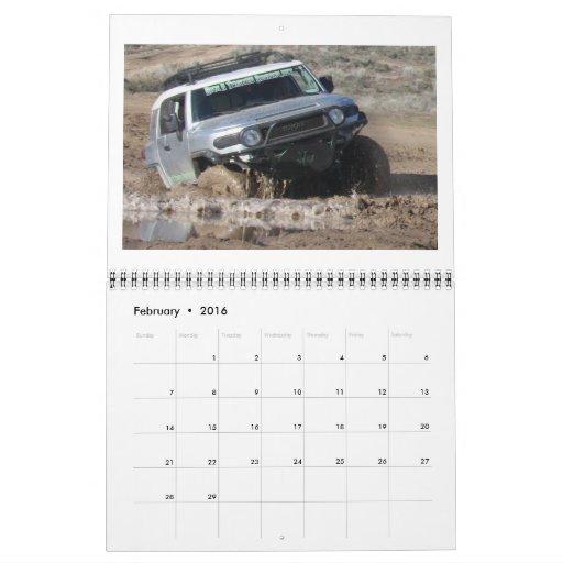2012 So Cal FJ Cruiser Calendar