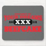 2012 solamente en su beefcake del equipo de sueños tapetes de ratones
