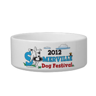 2012 Somerville Dog Festival Water Bowl Cat Bowl