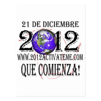 2012 spanish postcard