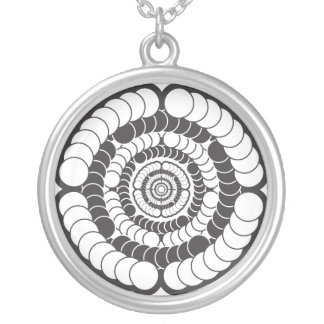 2012 spin Necklace
