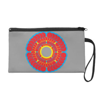 2012 spin red wristlet purses