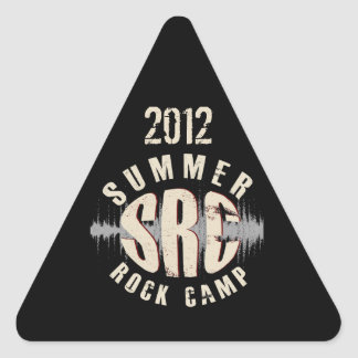 2012 SRC Triangle Sticker