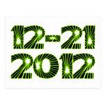 2012 Star Burst Post Card