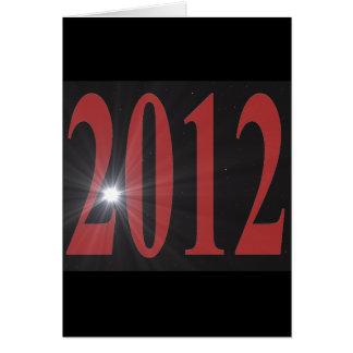 2012 Starburst Card