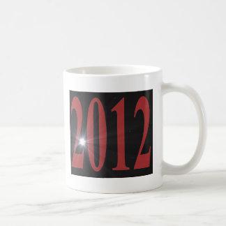 2012 Starburst Classic White Coffee Mug