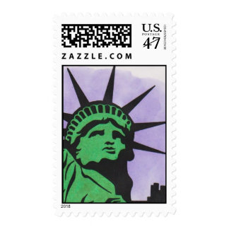 2012 Statue of Liberty Stamp by David Smith