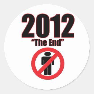 2012 ROUND STICKERS