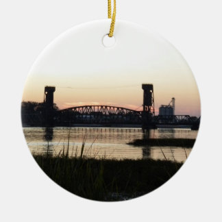 2012  Sunset Ceramic Ornament
