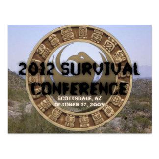 2012 Survival Conference Postcard