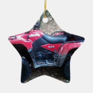 2012 Suzuki King Quad 500 Ceramic Ornament