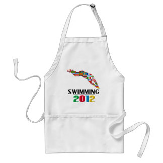 2012: Swimming Adult Apron