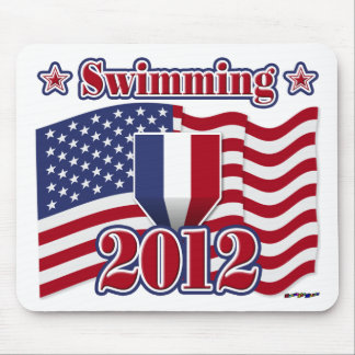 2012 Swimming Mouse Pad