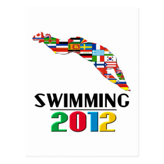 2012: Swimming Postcard