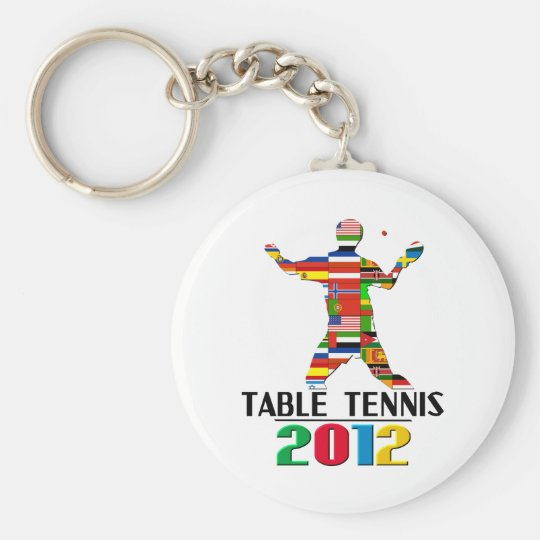 2012: Table Tennis Keychain