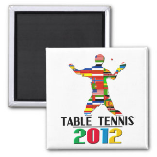 2012: Table Tennis Magnet