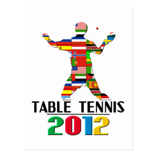 2012: Table Tennis Postcards